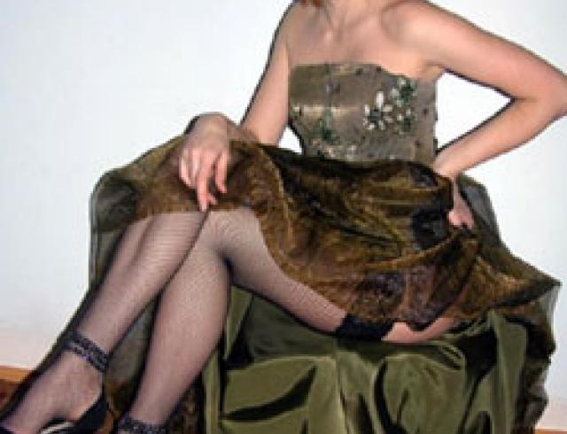 Платье на Новый год должно быть роскошным