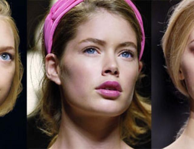 Господство розового – основная особенность весеннего макияжа 2006