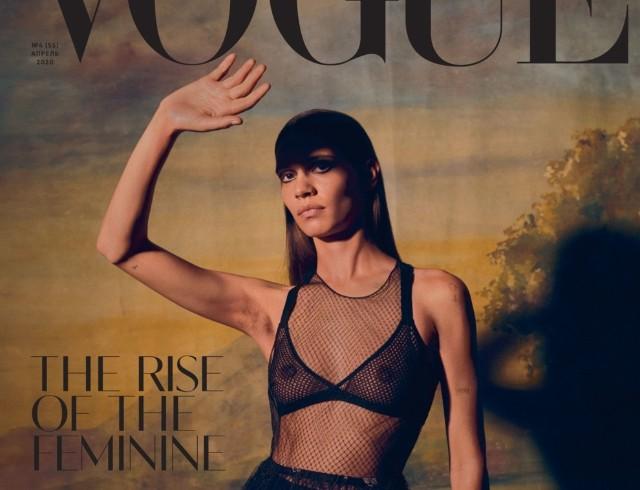 Феминизм, пуританство и новая женственность на апрельской обложке Vogue UA (ФОТО)