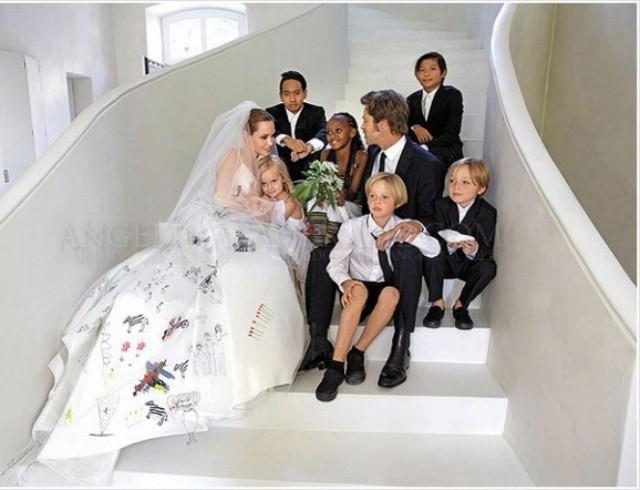 Дети Анджелины Джоли и Брэда Питта: как поменялась внешность наследников актеров